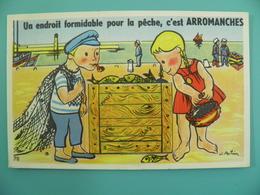 ST/224 - 14 - Arromanches -Port Pêcheur Pêche- Illustrateur J. Poitvin - CAP - Arromanches