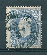 31 Gestempeld BRUXELLES LEGISLATIF - 1869-1883 Leopold II