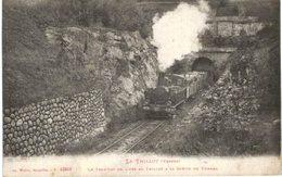 LE THILLOT .... TRAIN ... LE TRAMWAY DE LURE AU THILLOT - Strassenbahnen