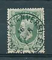 30 Gestempeld BERCHEM (ANVERS) - COBA 4 Euro (zie Opm) - 1869-1883 Leopold II