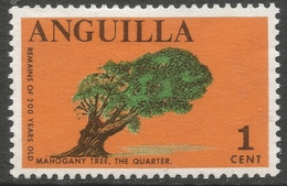Anguilla. 1967-68 Definitives. 1c MH. SG 17 - Anguilla (1968-...)