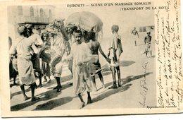 DJIBOUTI(TYPE) TRANSPORT DE LA DOT - Gibuti