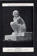 """Art / Sculpture / Salon Des Artistes Français / Agnès L.Rossollin """"Surprise"""" / (Autographe De L'Artiste Au Verso ) - Sculptures"""