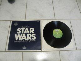 Star Wars -(Titres Sur Photos)- Vinyle 33 T LP Album US 1977 The Electric Moog Orchestra - Filmmusik
