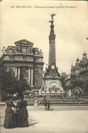 Bruxelles :    Monument  Anspach ( Place De Brouckère) - Monumenti, Edifici