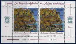 "Monaco YT 2134 Feuillet "" L'Arboretum "" 1997 Neuf** - Monaco"