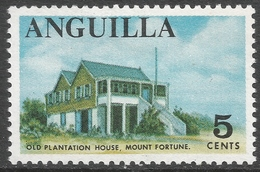 Anguilla. 1967-68 Definitives. 5c MH. SG 21 - Anguilla (1968-...)