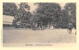 Paris Vécu - Au Jardin D'Acclimatation - Petit Train Tiré Par Un Cheval - Cecodi N'724 - France