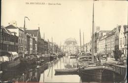Bruxelles :  Quai Au Foin - Maritiem