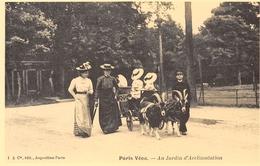 Paris Vécu - Au Jardin D'Acclimatation - Voiture à Chèvres - Cecodi N'81 - France