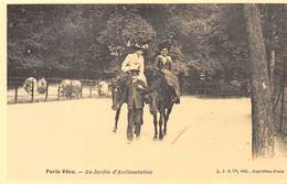 Paris Vécu - Au Jardin D'Acclimatation - Chevaux - Cecodi N'82 - France