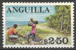Anguilla. 1967-68 Definitives. $2.50 MH. SG 30 - Anguilla (1968-...)