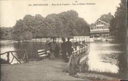 Bruxelles :  Bois De La Cambre - Lac Et Châlet Robinson - Bossen, Parken, Tuinen