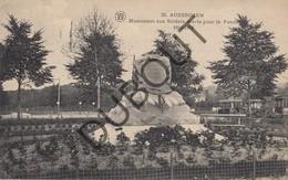 Postkaart - Carte Postale OUDERGEM/AUDERGHEM Monument Aux Soldats Morts Pour La Patrié 1914-1918 WO I (O3) - Auderghem - Oudergem