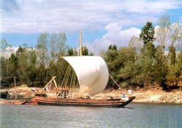 Montjean Sur Loire (49) : La Montjeannaise Gabare De Loire - France