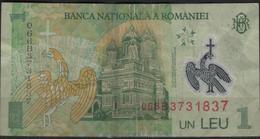 B 106 - ROUMANIE Billet De 1 Leu - Roumanie