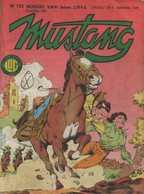 MUSTANG N° 153 BE LUG  12-1988 - Mustang