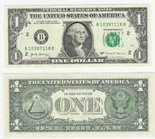 USA  1 Dollar 2017 New York Bfr - Billets De La Federal Reserve (1928-...)