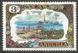 Anguilla. 1970 Definitives. 3c MH. SG 86 - Anguilla (1968-...)