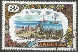 Anguilla. 1970 Definitives. 3c Used. SG 86 - Anguilla (1968-...)