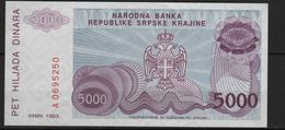 B 107 - Banque Serbe De La République De Krajine - Croatie