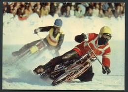 MOTO - CHAMPIONNAT DU MONDE DE COURSE SUR GLACE - UN RUSSE EST EN TETE - Sport Moto