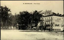 Bruxelles - Porte  Louise - Lanen, Boulevards