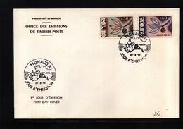 Monaco 1965 Europa Cept  Michel 810-811 FDC - Monaco