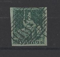 MAURICE. YT   N° 12  Obl  (signé)  1858 - Maurice (1968-...)