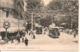 L200A305 -  Marseille - Boulevard Dugommier  - LL N°57  - Jolie Animation, Tram - Canebière, Centre Ville