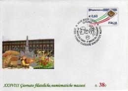 Italia 2012 Massa Mostra Del Fungo E Del Peperoncino Mushrooms And Chili Pepper Su Busta Postale Repiquage - Funghi