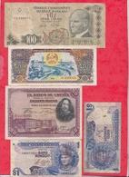 Pays Du Monde 20 Billets Dans L 'état Lot N °7 - Monnaies & Billets