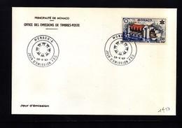 Monaco 1967 EXPO Montreal  Michel 867 FDC - 1967 – Montreal (Kanada)