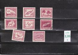 Chile  -  Lote  8  Sellos Diferentes   -  2/769 - Chile