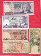 Pays Du Monde 20 Billets Dans L 'état Lot N °8 - Monnaies & Billets