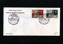 Monaco 1966 WHO Michel 837-838 FDC - 1967 – Montreal (Canada)