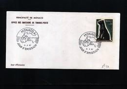 Monaco 1967 Michel 872 FDC - 1967 – Montreal (Kanada)