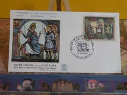 Saint Savin Sur Gartempe - 86 Saint Savin - 28.6.1969 FDC 1er Jour N°687 - Coté 2,70€ - FDC