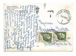 Yugoslavia PORTO Banja Luka + 0.30 +0.30 T Post - Yougoslavie