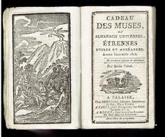 CADEAU DES MUSES OU ALMANACH UNIVERSEL 1816 LIBRAIRE BREE A FALAISE ILE DE SAINTE HELENE NAPOLEON MAISON DU ROI PRINCES - 1801-1900