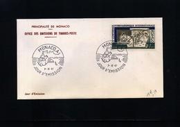 Monaco 1967 Michel 873 FDC - 1967 – Montreal (Canada)