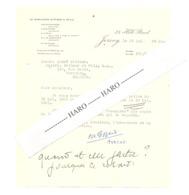 JERSEY - Lettre à Entête - LE MASURIER, GIFFARD & POCH, Laywers 1951 (jm) - United Kingdom