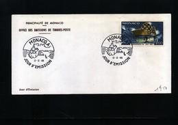 Monaco 1966 Michel 840 FDC - 1967 – Montreal (Canada)