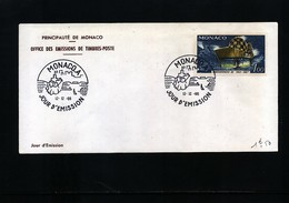 Monaco 1966 Michel 840 FDC - 1967 – Montreal (Kanada)
