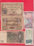 Pays Du Monde 20 Billets Dans L 'état Lot N °10 - Coins & Banknotes
