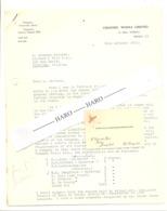 JERSEY - Lettre à Entête + Visit Card - CHANNEL WOOLS Limited 1955 (jm) - United Kingdom