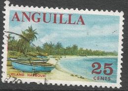 Anguilla. 1967-68 Definitives. 25c Used. SG 26 - Anguilla (1968-...)