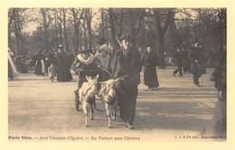 Paris Vécu - Aux Champs-Elysées - La Voiture Aux Chèvres - Cecodi N'1002 - France