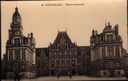 Bruxelles -   St Gilles : La Maison Communale - St-Gillis - St-Gilles