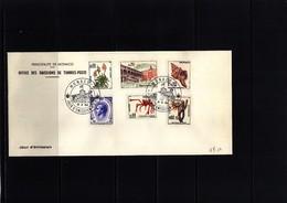 Monaco 1964 Michel 773-776+778+780 FDC - 1967 – Montreal (Kanada)